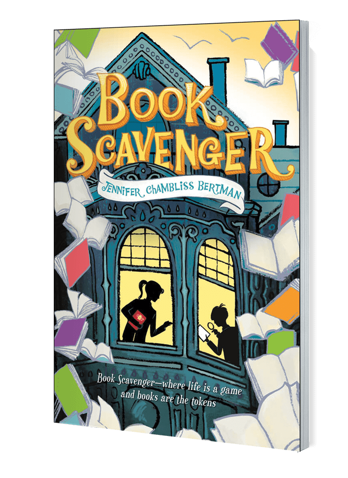 Children's Book Week Scavenger Hunt - Book Scavenger
